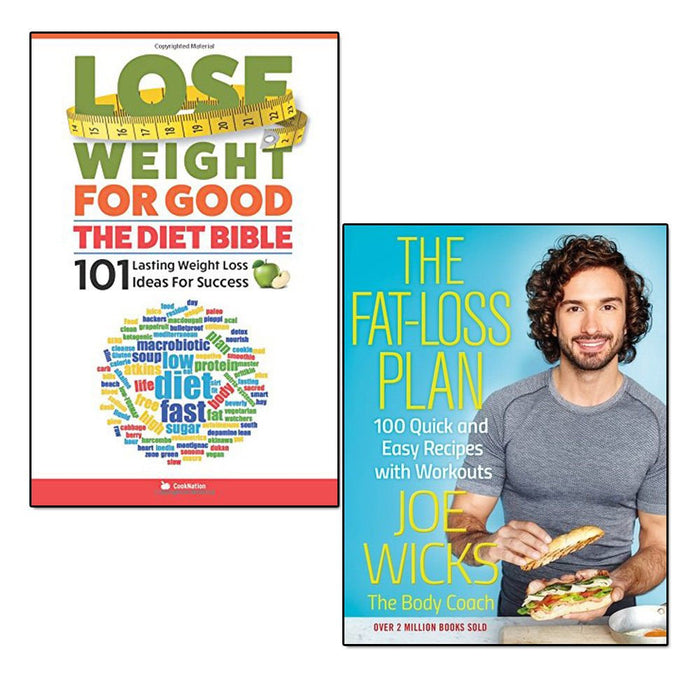 the fat-loss plan and lose weight for good the diet bible 2 books collection set - The Book Bundle
