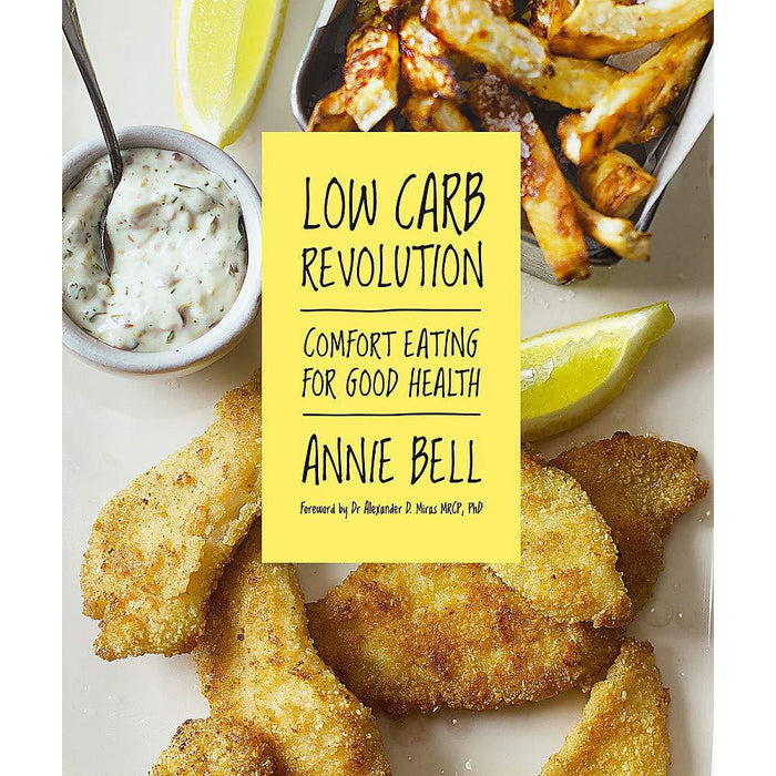 Low Carb Revolution: Comfort Eating for Good Health Paperback New - The Book Bundle