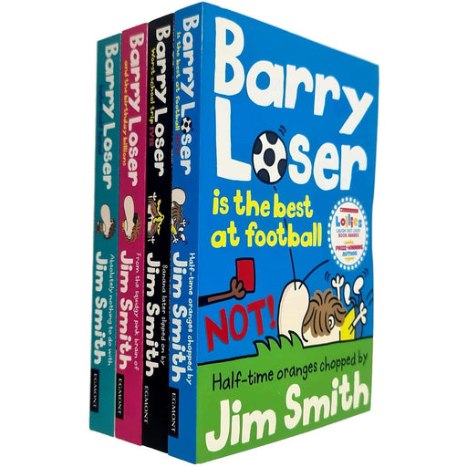 Barry loser series jim smith collection 4 books set - The Book Bundle