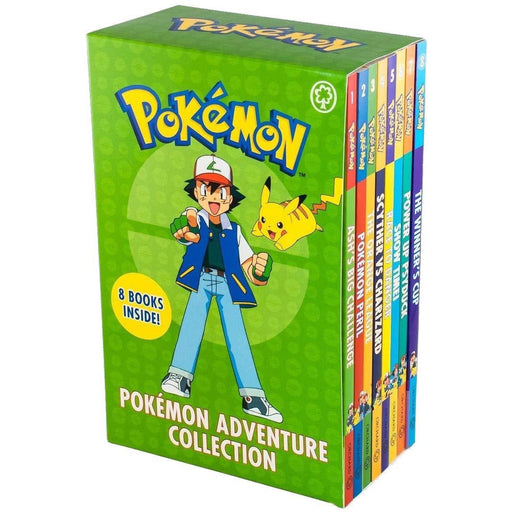 Pokemon Adventure Collection Series Books 1 -8 Set - The Book Bundle