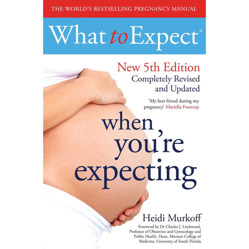 What to Expect When You're Expecting By Heidi Murkoff Paperback New - The Book Bundle