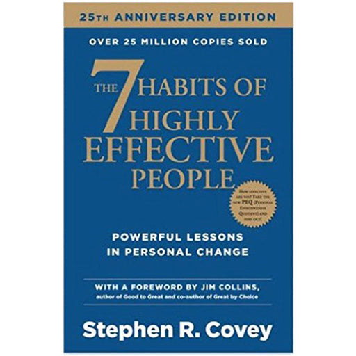 Stephen R. Covey 7 Habits Of Highly Effective People Paperback NEW - The Book Bundle