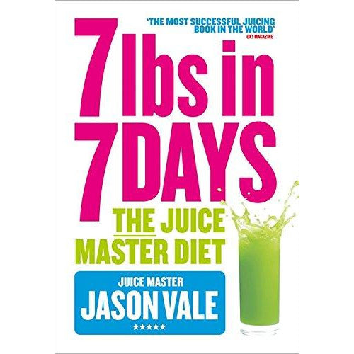 7lbs in 7 Days: The Juice Master Diet Paperback - The Book Bundle