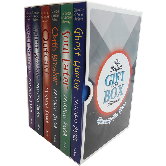 Chronicles of ancient darkness michelle paver collection 6 books gift wrapped box set - The Book Bundle