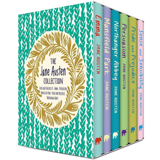 The Jane Austen Collection 6 Books Box Set - Young Adult - Hardback - The Book Bundle