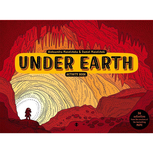Under Earth Activity Book (Activity Books) - The Book Bundle