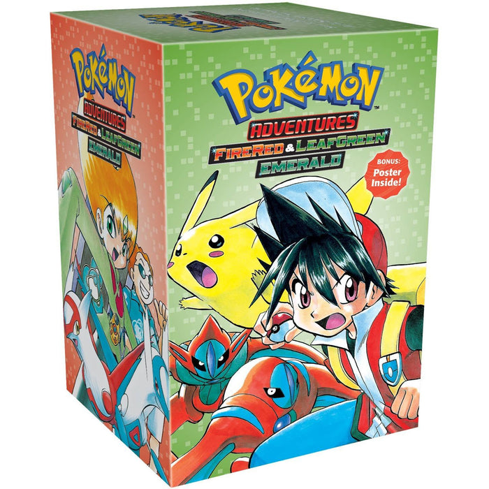 Pokemon Adventures Fire Red & Leaf Green/Emerald Box Set: 23-29: Includes Volumes 23-29 - The Book Bundle