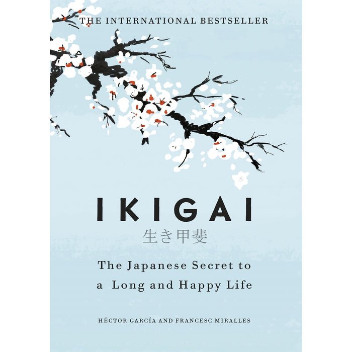 The Happiness Trap, Happiness, The Art of Happiness, [Hardcover] Ikigai The Japanese secret to a long and happy life 4 Books Collection Set - The Book Bundle