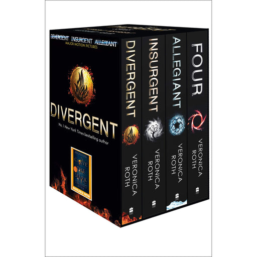 Divergent Series Box Set (books 1-4 plus World of Divergent) - The Book Bundle