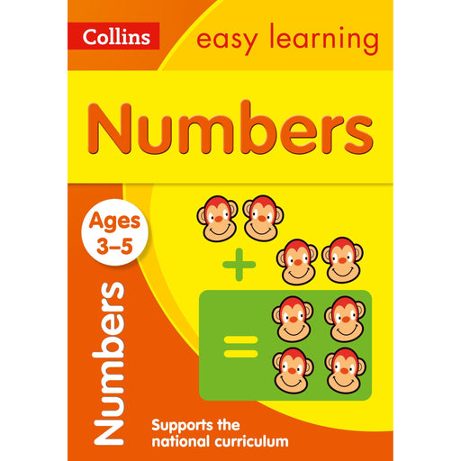 Numbers Ages 3-5: Ideal for Home Learning - The Book Bundle