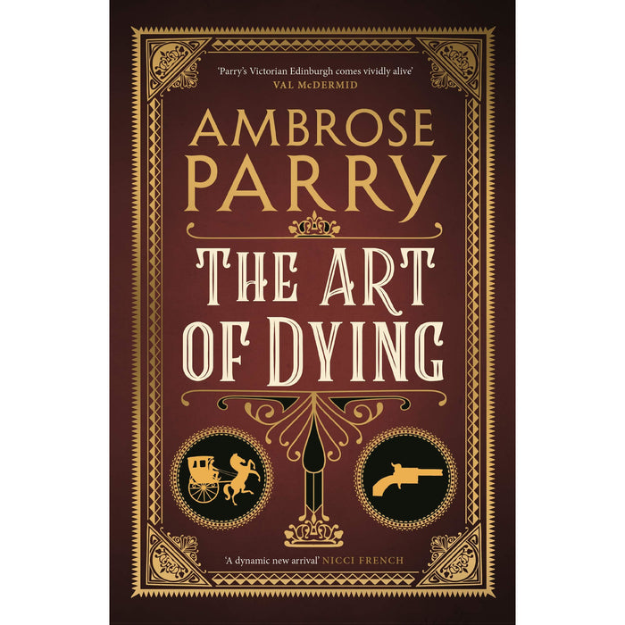 Ambrose Parry Collection 2 Books Set (The Way of All Flesh, The Art of Dying [Hardcover]) - The Book Bundle