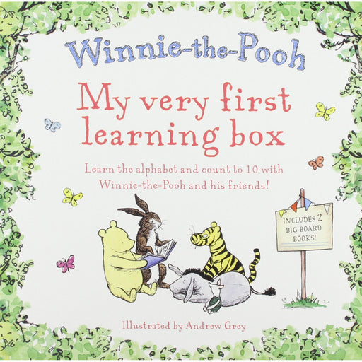 Winnie the Pooh My Very First Learning Box - The Book Bundle
