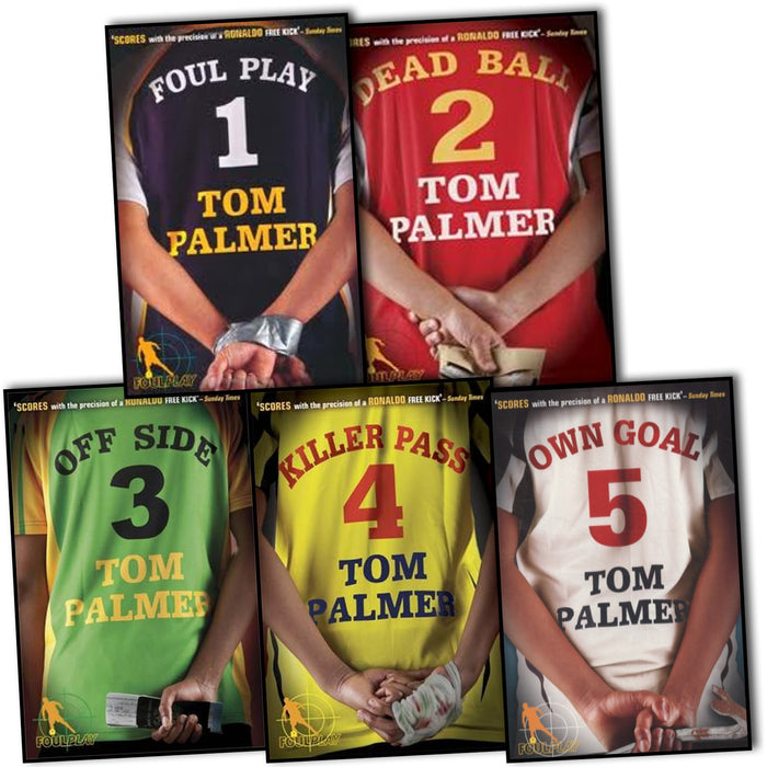 Tom Palmer Football Detective 5 Books Collection Pack Set RRP: £34.95 (Own Goal, Foul Play, Dead Ball, Killer Pass, Off Side) - The Book Bundle
