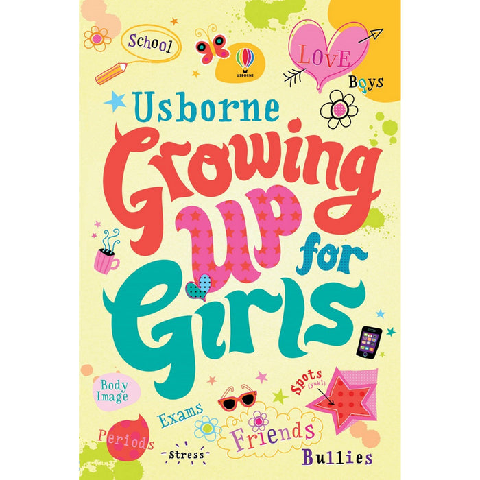 Growing Up for Girls Paperback - The Book Bundle