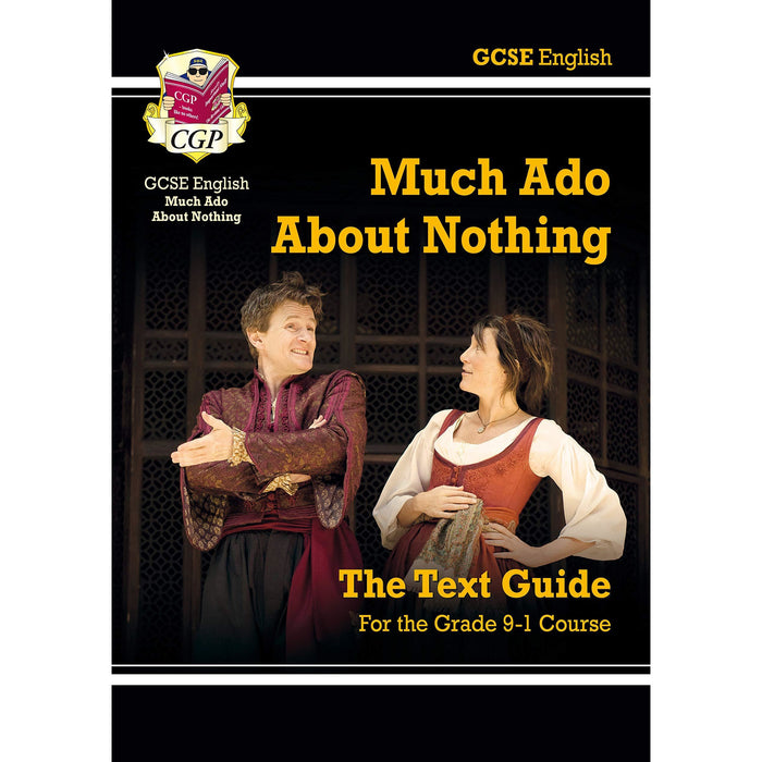CGP GCSE Nnglish The Complete Play, Shakespeare Text Guide 3 Books Collection Set - The Book Bundle