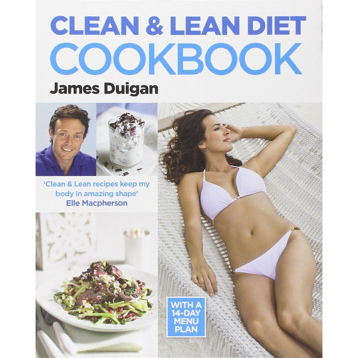 Clean Lean Diet Eating Cookbook Made Simple 6 Books Collection Set - The Book Bundle