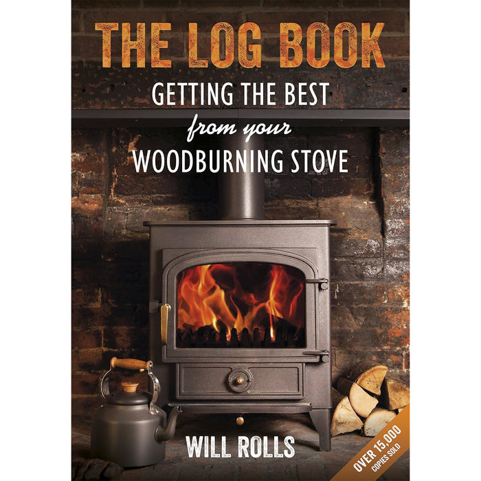 Wood fire handbook and norwegian and log 3 books collection set - The Book Bundle