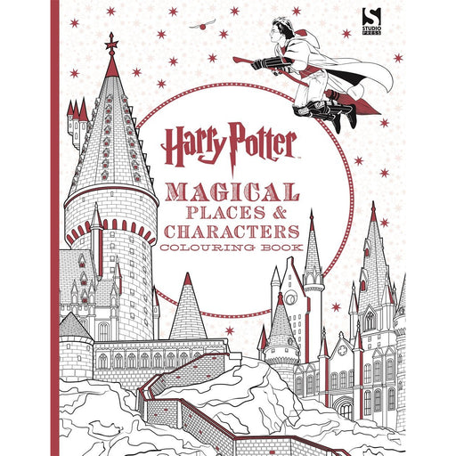 Harry Potter Magical Places and Characters Colouring Book 3 - The Book Bundle