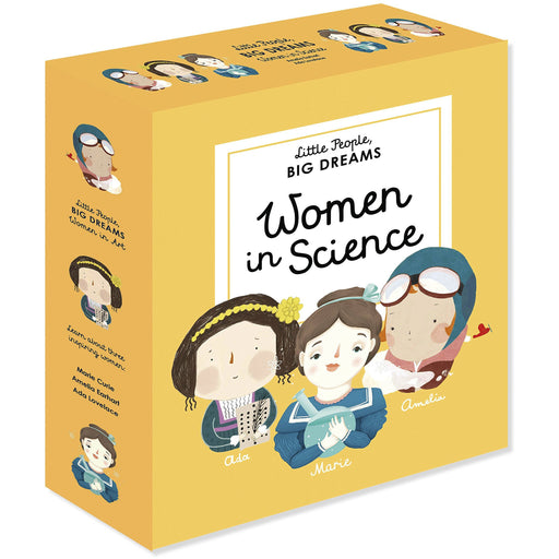 Little People, BIG DREAMS: Women in Science - The Book Bundle