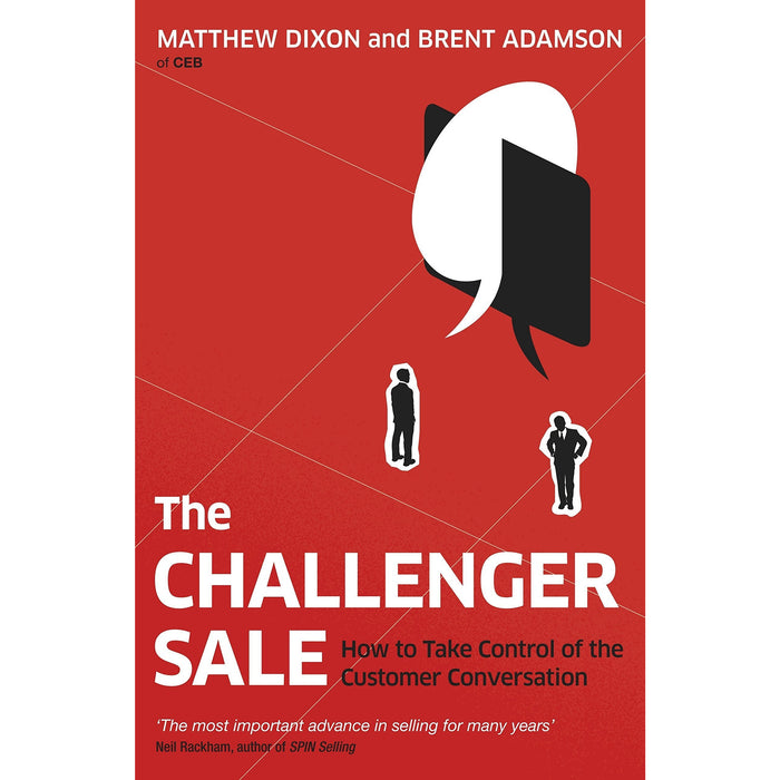 Challenger sale, customer and to sell is human 3 books collection set - The Book Bundle