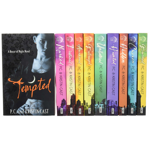 House of Night Collection 12 Books Set Pack By P C Cast and Kristin Cast - The Book Bundle