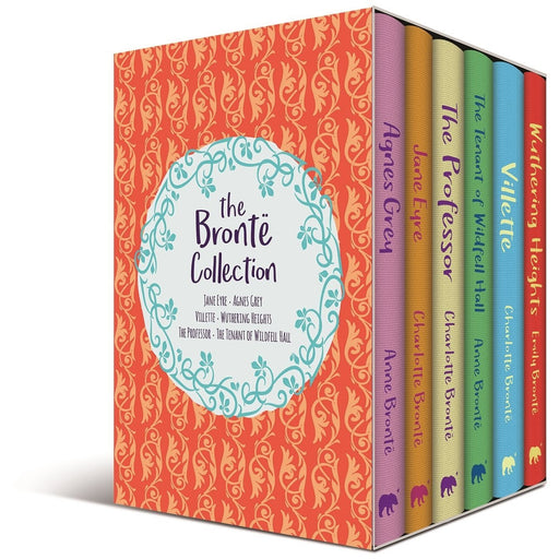 The Bronte Deluxe Collection 6 Books Collection Box Set Pack Agnes Grey Hardback - The Book Bundle