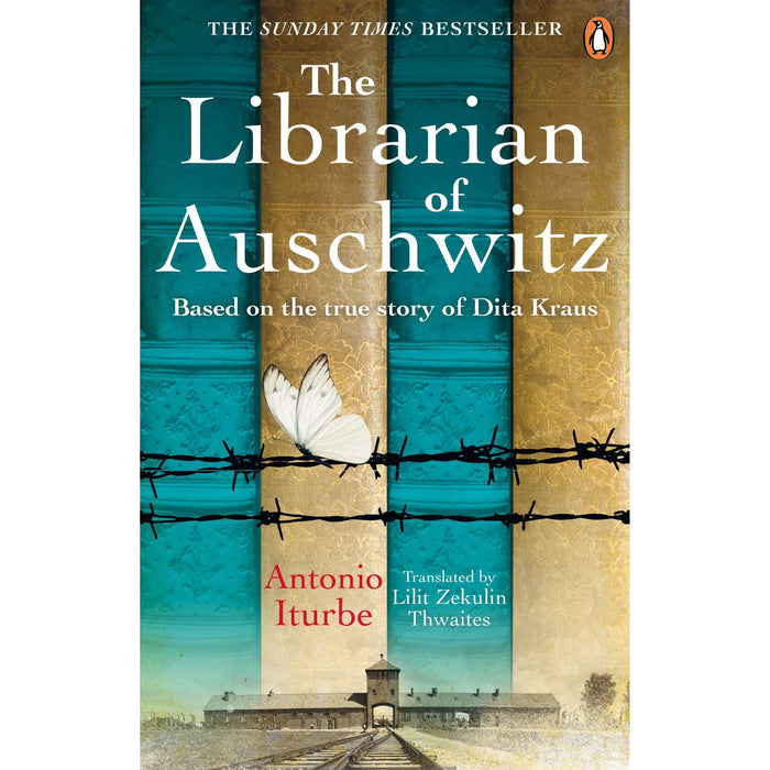 Cilka's Journey, The Librarian of Auschwitz, The Tattooist of Auschwitz 3 Books Collection Set - The Book Bundle