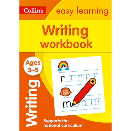 Writing Workbook Ages 3-5: Ideal for Home Learning - The Book Bundle