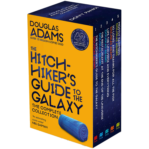 Hitchhikers Guide to the Galaxy 5 Books Collection Box Set by Douglas Adams - The Book Bundle