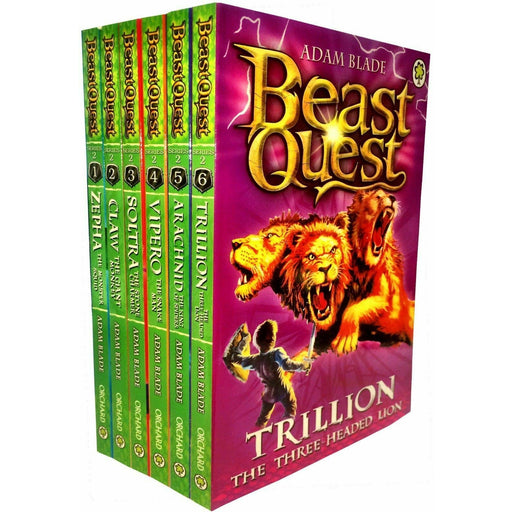 Beast Quest Box Set Series 2 The Golden Armour 6 Books Collection Set (Books 7-12) - The Book Bundle