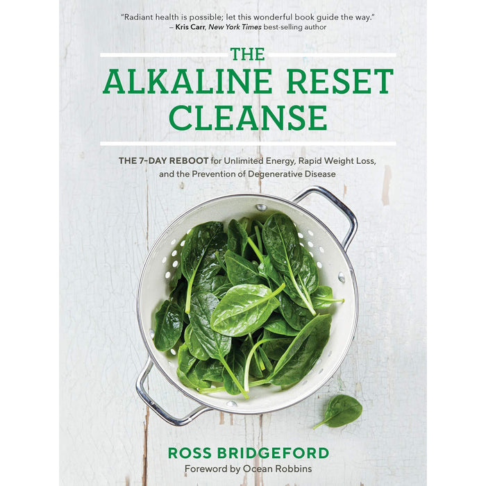 Alkaline cure [hardcover], alkaline reset cleanse [hardcover], ketogenic green smoothies, keto crock pot cookbook collection 4 books set - The Book Bundle