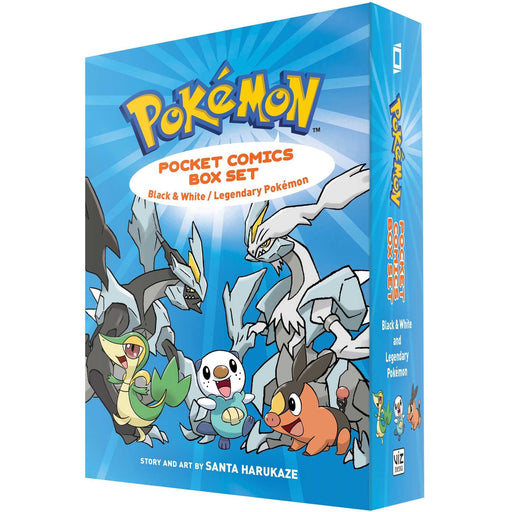 Pokemon Pocket Comics Box Set: Black & White / Legendary Pokemon: Volume 1 - The Book Bundle