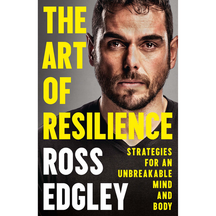 The World's Fittest Book and The Art of Resilience By Ross Edgley 2 Books Collection Set - The Book Bundle