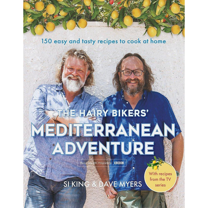 The Hairy Bikers' Mediterranean Adventure [Hardcover] and Tasty & Healthy Fuck That'S Delicious 2 Books Collection Set - The Book Bundle