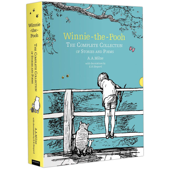 Winnie-the-Pooh: The Complete Collection of Stories and Poems: Hardback Slipcase Volume (Winnie-the-Pooh - Classic Editions) - The Book Bundle