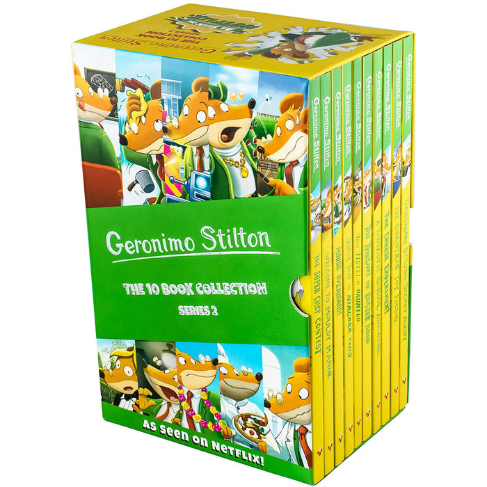 Geronimo Stilton: The 10 Book Collection Series 2 Box Set - The Book Bundle