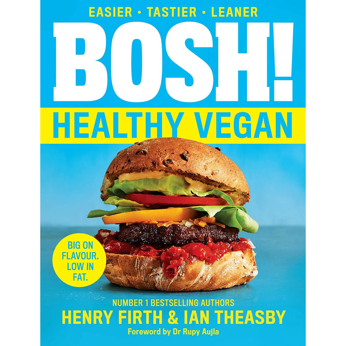 Bosh Healthy Vegan, [Hardcover] Bosh Simple recipes Amazing Food All Plants 2 Books Collection Set By Henry Firth, Ian Theasby - The Book Bundle
