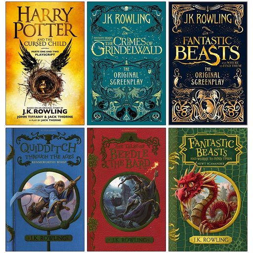 J.K. Rowling 6 Books Collection  Set Paperback NEW - The Book Bundle