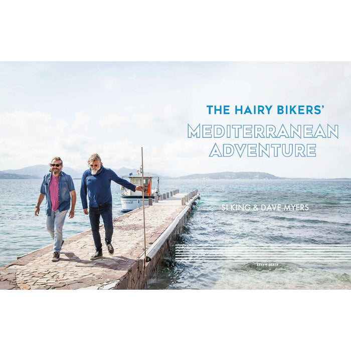 The Hairy Bikers' Mediterranean Adventure (TV tie-in): 150 easy and tasty recipes to cook at home - The Book Bundle