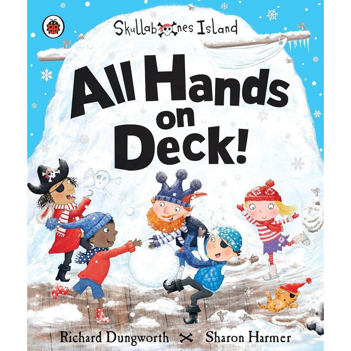 Teatime for pirates, all hands on deck, five minutes to bed 3 books collection set - The Book Bundle