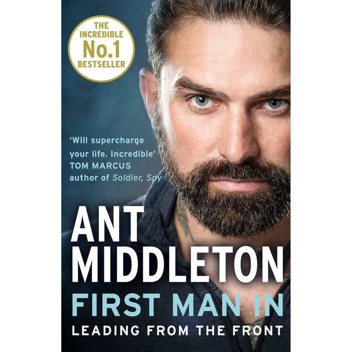 Ant Middleton Collection 2 Books Set (First Man In, The Fear Bubble)-Paperback - The Book Bundle