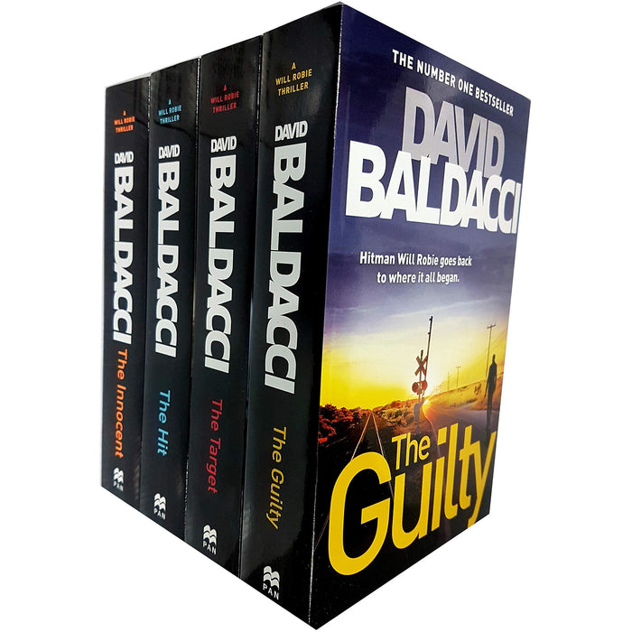 David baldacci will robie series 4 books collection set - The Book Bundle