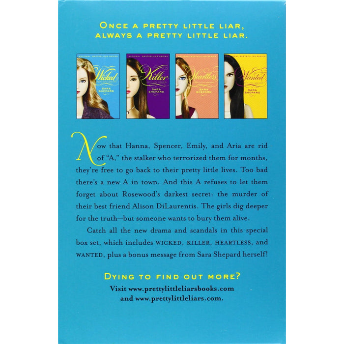 Wicked: A Pretty Little Liars Box Set: Wicked/Killer/Heartless/Wanted - The Book Bundle