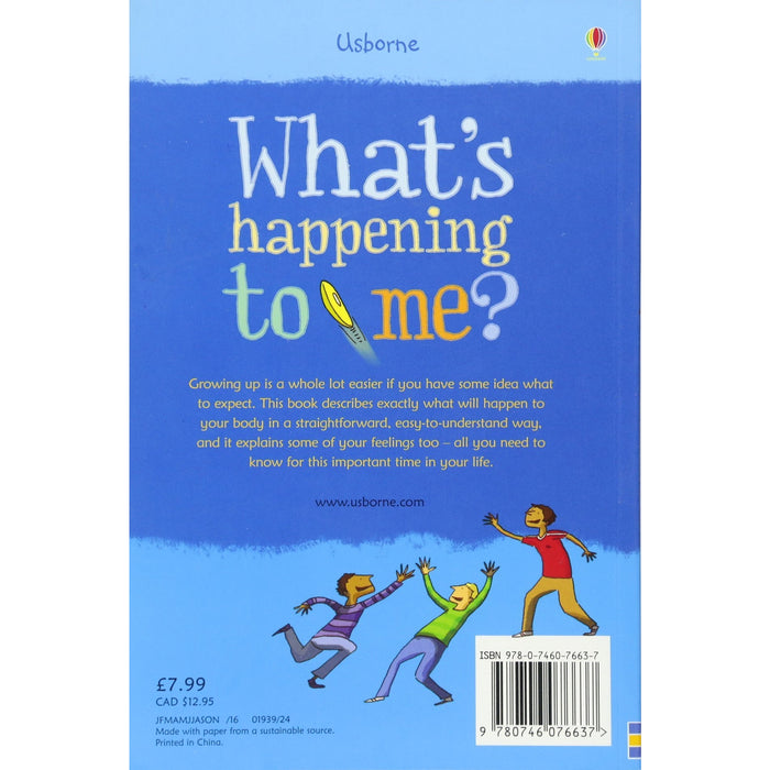 What's Happening to Me?: Boy (Facts Of Life) - The Book Bundle