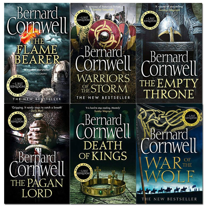 Bernard Cornwell The Last Kingdom Series 6 Books Collection Set (6-11) - The Book Bundle