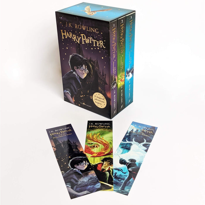 Harry Potter 1-3 Box Set: A Magical Adventure Begins - The Book Bundle