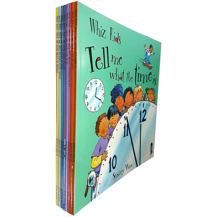 Whiz kids tell me 8 books collection set by shirley willis - The Book Bundle