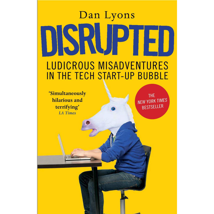 Lab Rats: Why Modern & Disrupted: By Dan Lyons 2 Books Collection Set - The Book Bundle