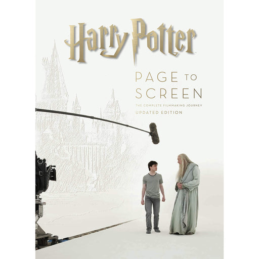 Harry Potter: Page to Screen: Updated Edition By Bob McCabe  Hardcover - The Book Bundle