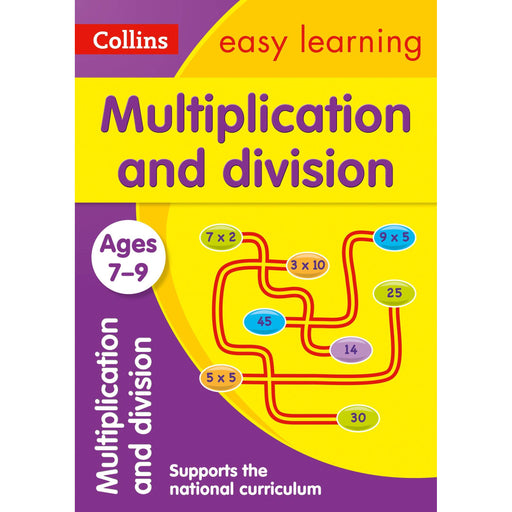 Multiplication and Division Ages 7-9: Ideal for Home Learning - The Book Bundle